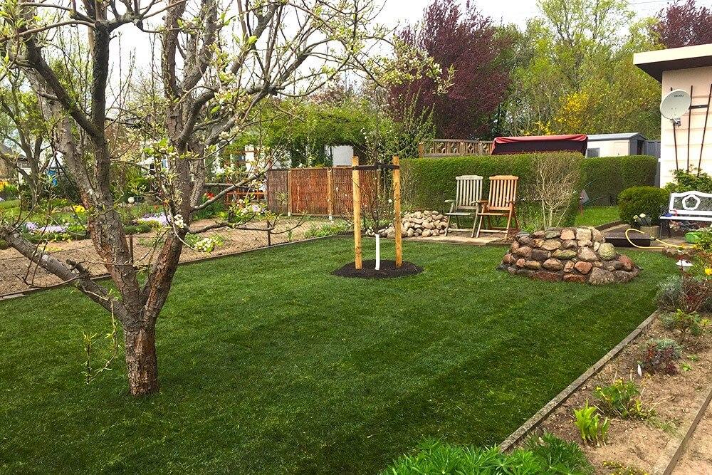 Planung und Pflege eines grünen Gartens